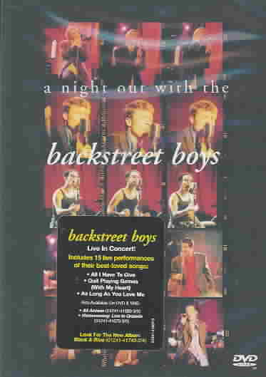 NIGHT OUT WITH THE BACKSTREET BOYS BY BACKSTREET BOYS (DVD)